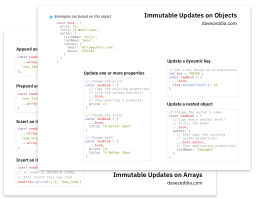 Immutability Cheatsheet preview