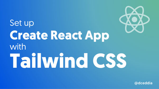 Use Tailwind with Create React App