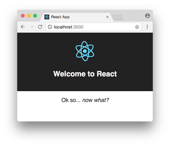 Welcome to React. Now what?